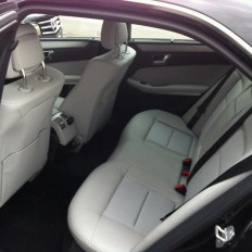 Mercedes Clase E Executive interior